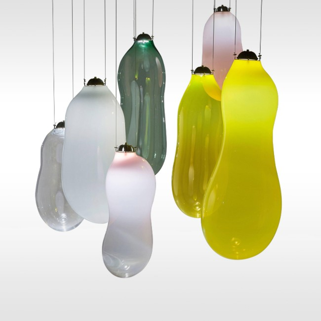 Alex de Witte hanglamp The Big Bubble Coloured door Studio Alex de Witte
