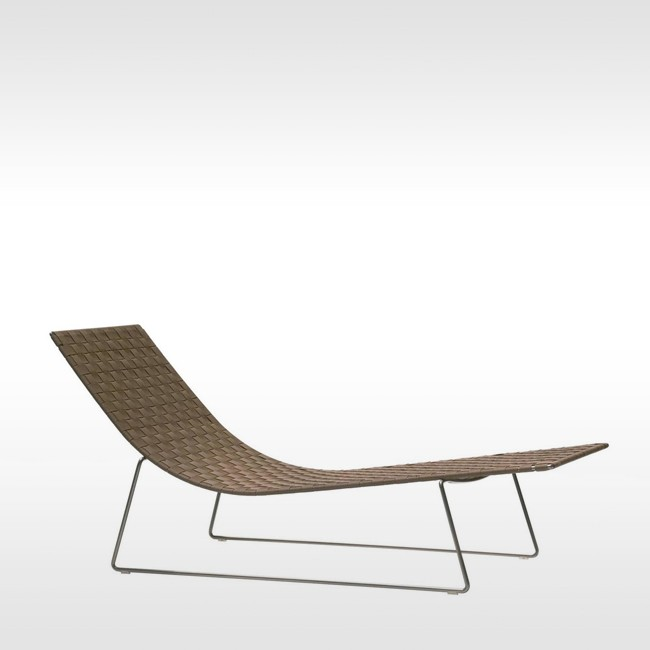 Andreu World ligbed Trenza Chaise Lounge door Lievore Altherr Molina
