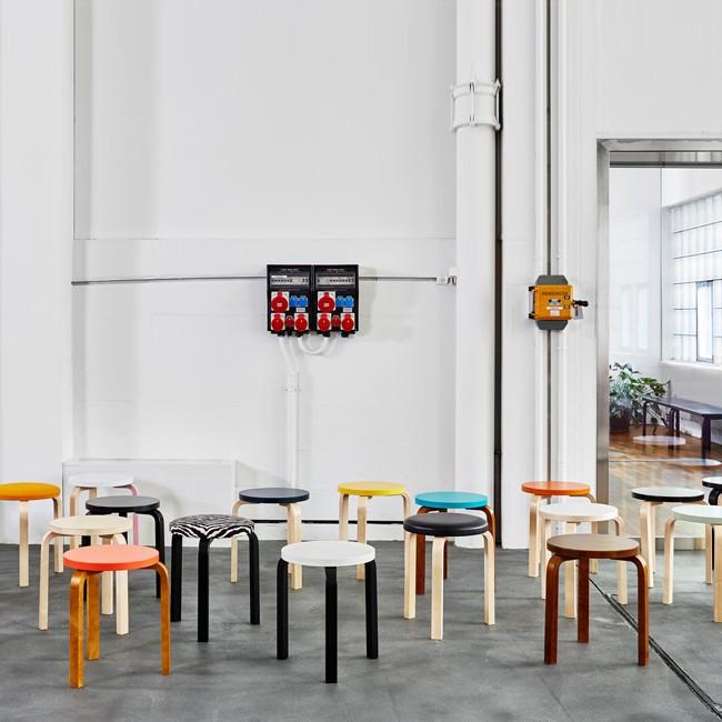 Artek Kruk Stool 60 Door Alvar Aalto Designlinq Nl