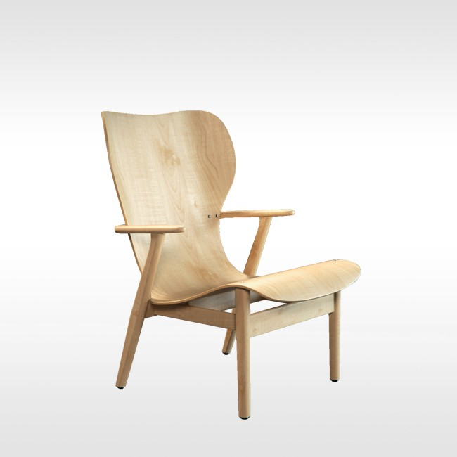 Artek loungestoel Domus Lounge Chair door Ilmari Tapiovaara