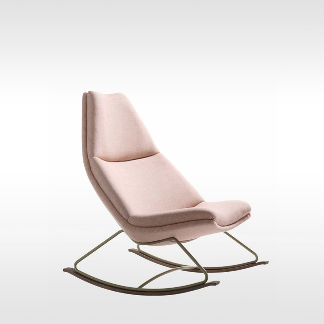 Artifort schommelstoel 500 Series: Rocking Chair door Geoffrey Harcourt