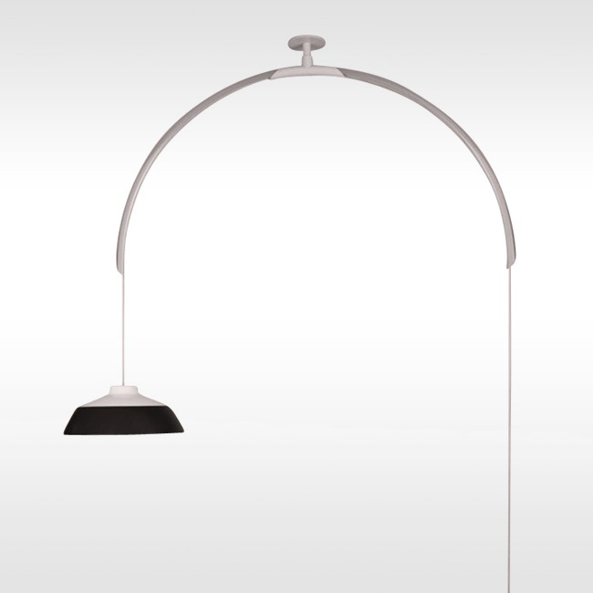 Astep plafondlamp Model 2129 door Gino Sarfatti