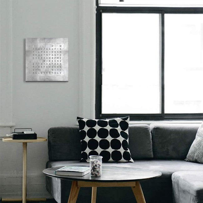 biegert funk wandklok qlocktwo classic creator 39 s edition. Black Bedroom Furniture Sets. Home Design Ideas