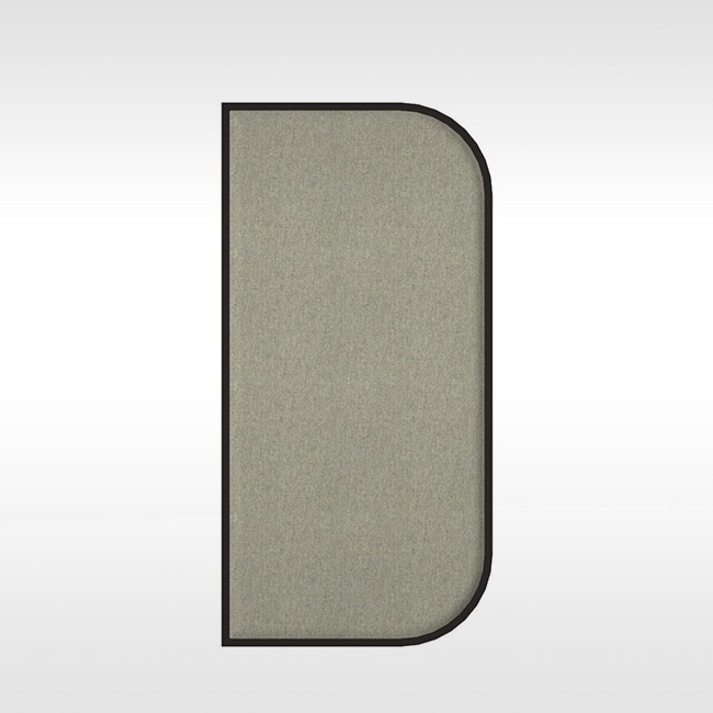 BuzziSpace akoestisch wandpaneel BuzziMood Rectangular D Fabric door Cory Grosser