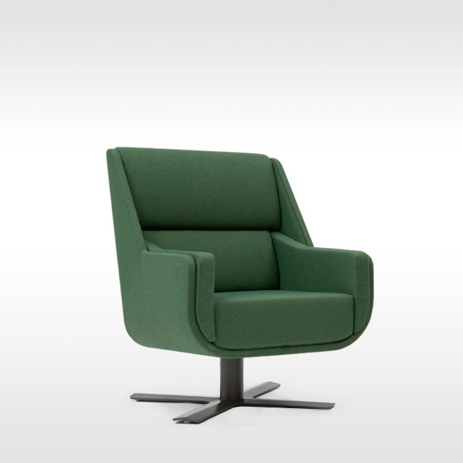 BuzziSpace fauteuil BuzziMe Low door Axel Enthoven