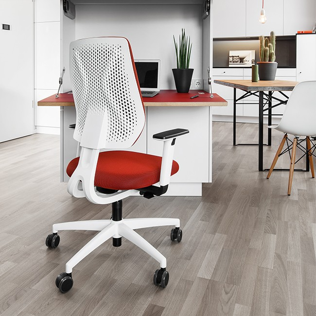 Dauphin Trendoffice bureaustoel Speed-O Comfort SP76395 White door Gorgi Design