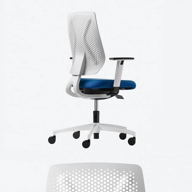 Dauphin Trendoffice bureaustoel Speed-O Membraan SP76195 White door Gorgi Design