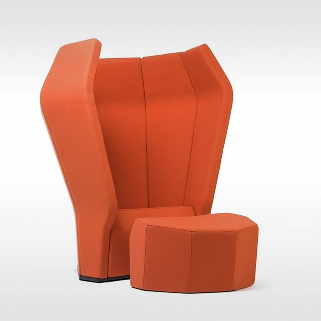 Donar akoestische fauteuil Beatnik Sound Station Chair door GIGODESIGN