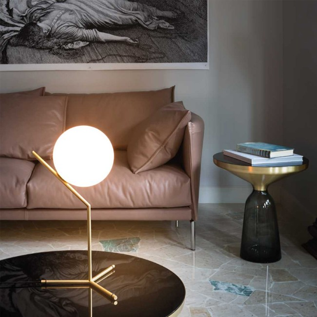 Flos tafellamp IC Light IC T1 High door Michael Anastassiades