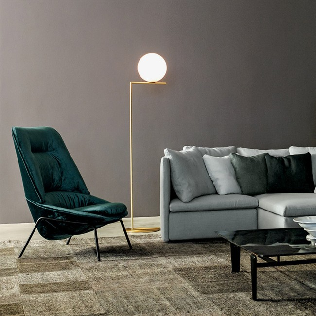 Flos vloerlamp IC Light Floor F1 door Michael Anastassiades