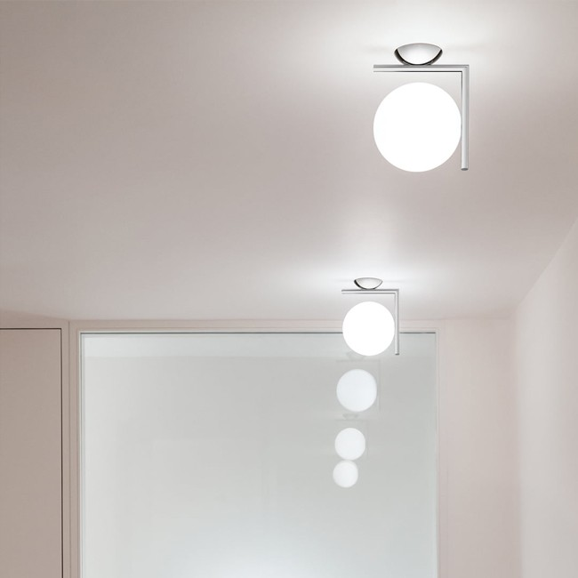 Flos wandlamp/plafondlamp IC Light IC C/W1 door Michael Anastassiades