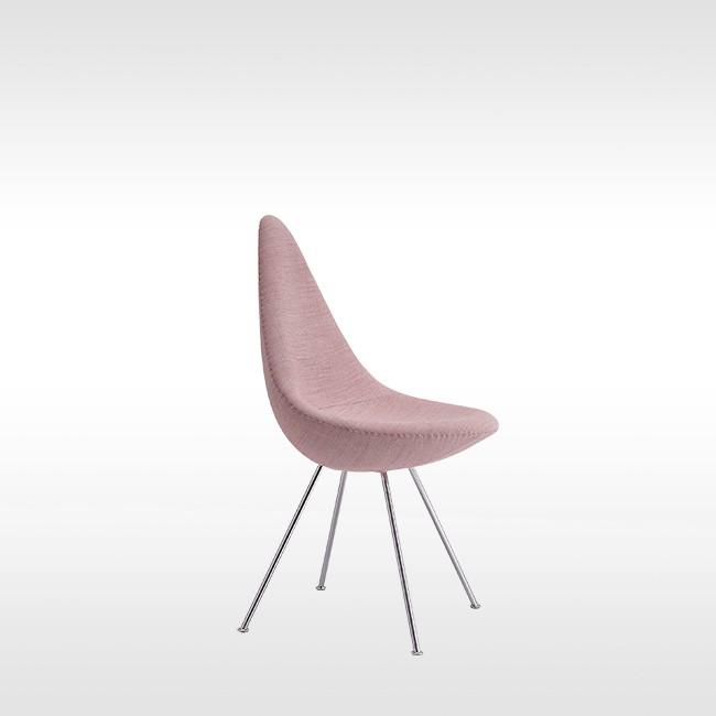 Fritz Hansen Stoel.Fritz Hansen Stoel Drop Model 3110 Textiel Door Arne Jacobsen