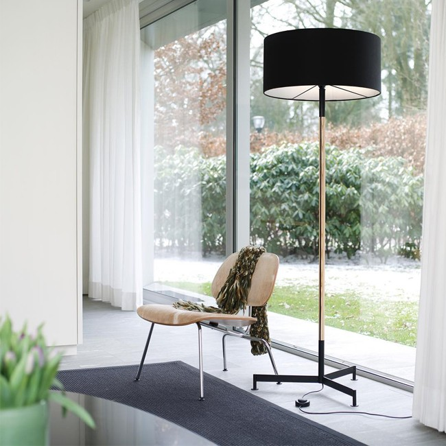Functionals vloerlamp Stoklamp door Floris Hovers