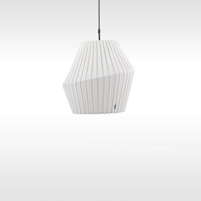 Hollands Licht hanglamp Pleat Suspension door Wiebe Boonstra, Martijn Hoogendijk & Marc van Nederpelt
