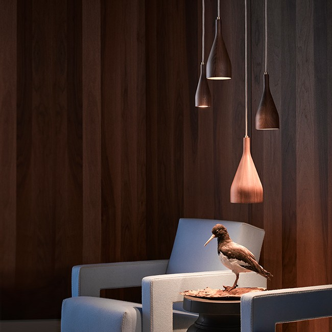 Hollands Licht hanglamp Timber Small door Ernst Koning