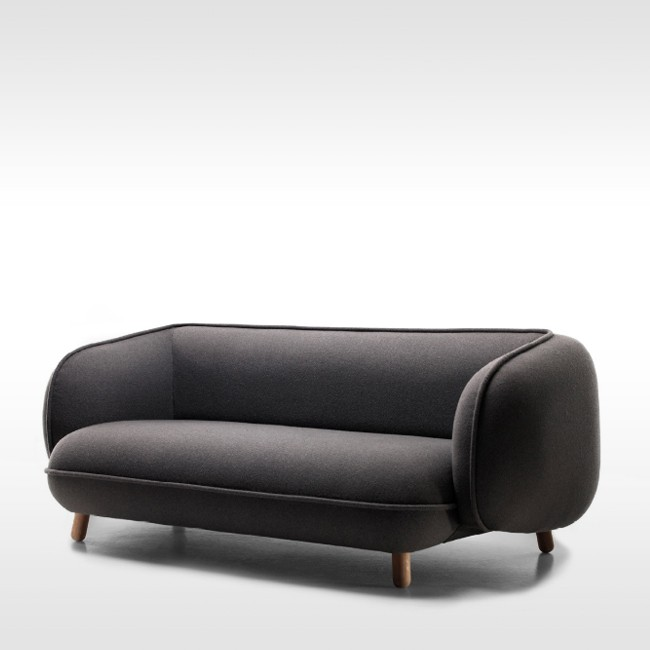 Jot.Jot bank Basset Sofa door Iskos Berlin