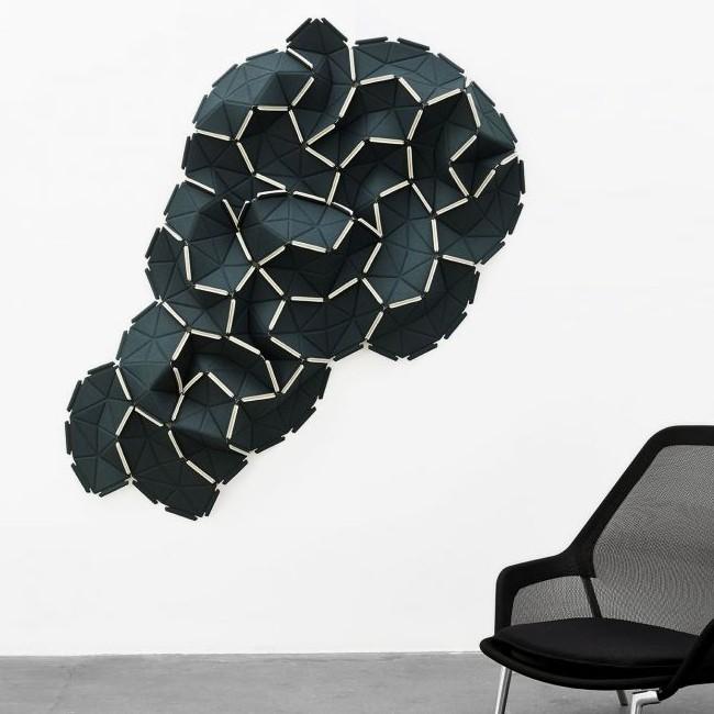 Kvadrat akoestisch paneel Clouds set/24 door Ronan & Erwan Bouroullec