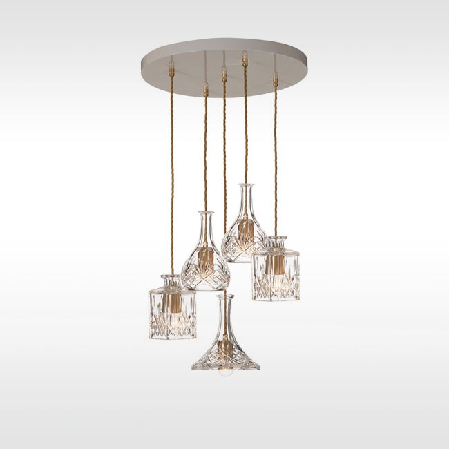 Lee Broom hanglamp Decanterlight Chandelier door Lee Broom
