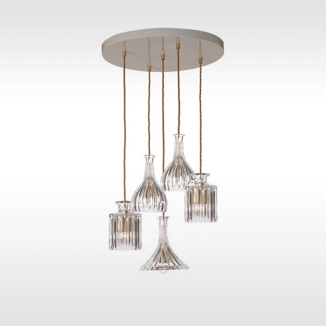 Lee Broom hanglamp Decanterlight Chandelier Straight door Lee Broom