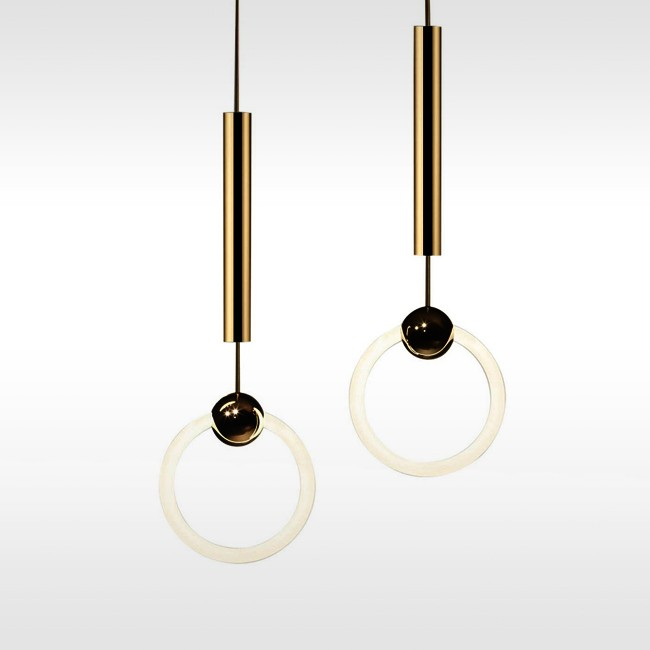 Lee Broom hanglamp Ring Light door Lee Broom