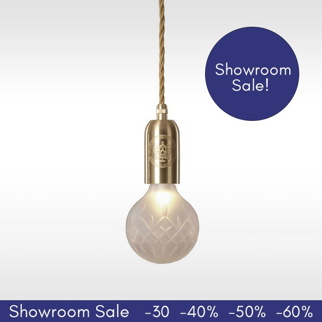 SHOWROOM SALE! Lee Broom hanglamp Crystal Bulb Pendant door Lee Broom