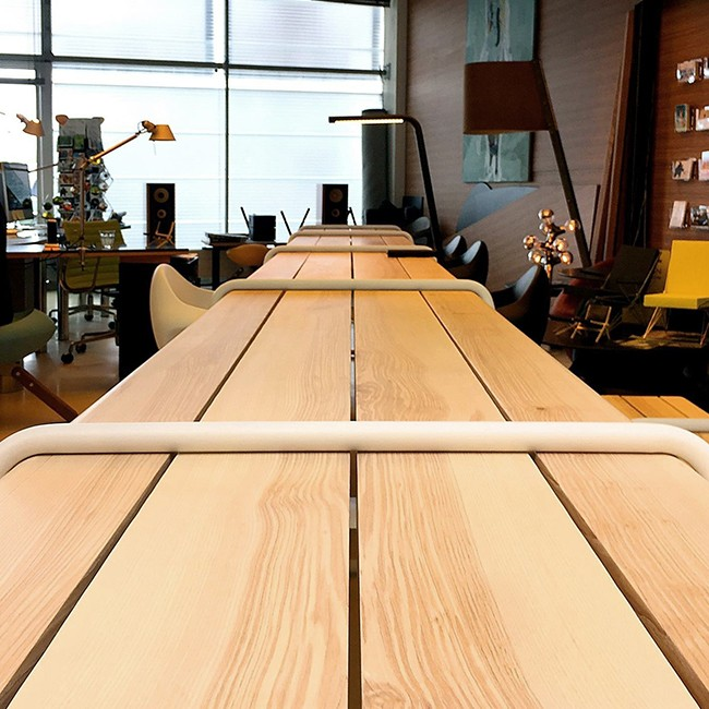 Lonc tafel Clip-Board Table Extended Indoor door Rogier Waaijer