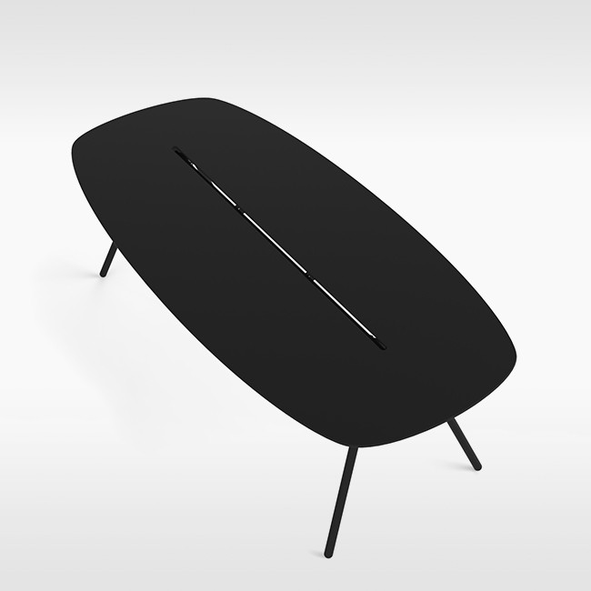 Lonc tafel Long Board a-Lowha Conference Table door Rogier Waaijer