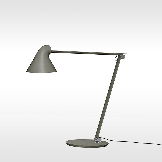 Louis Poulsen bureaulamp NJP Table Dark Grey door Nendo