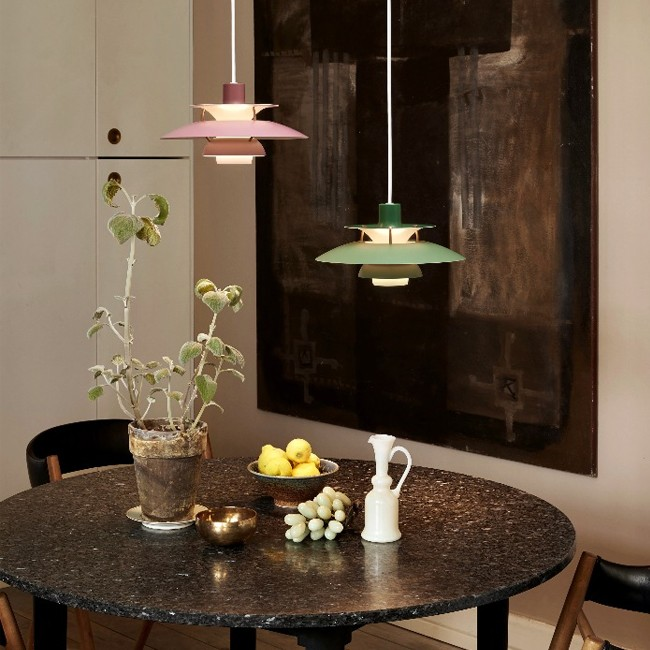Louis Poulsen hanglamp PH 5 Mini door Poul Henningsen