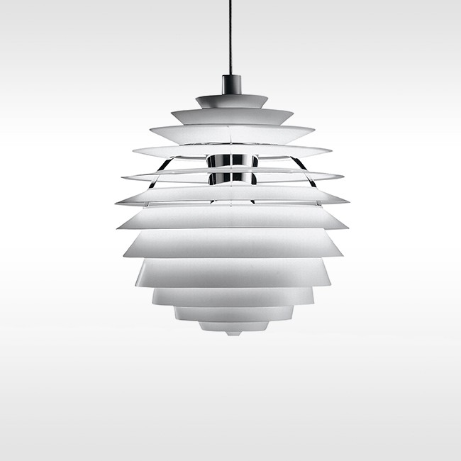 Louis Poulsen hanglamp PH Louvre LED door Poul Henningsen