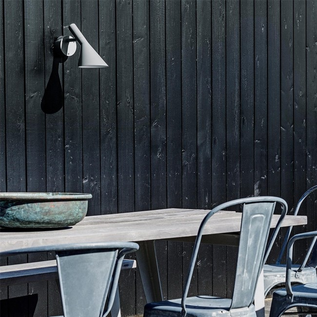 Louis Poulsen wandlamp AJ 50 Wall Outdoor door Arne Jacobsen