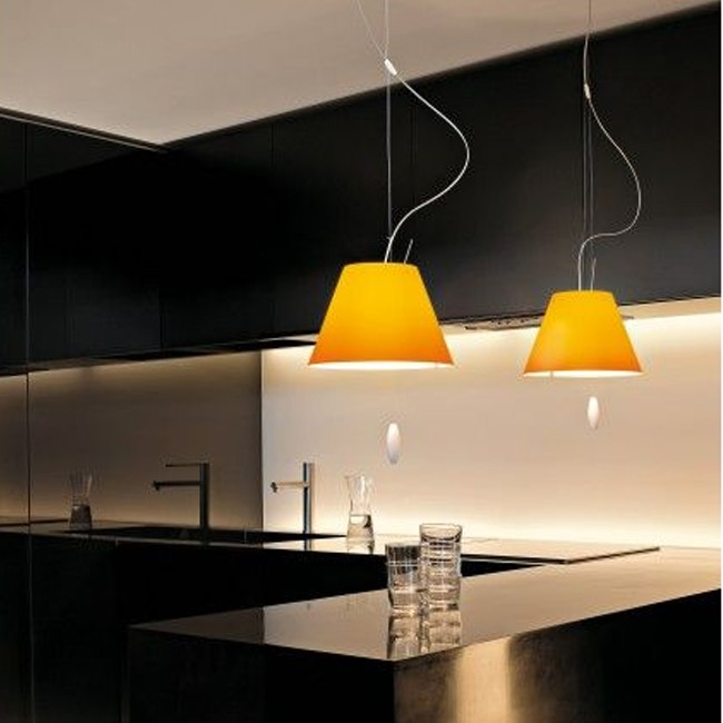 Luceplan hanglamp D13sas L Costanza LED Up & Down door Paolo Rizzatto