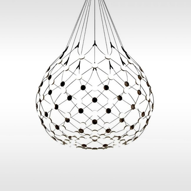 Luceplan hanglamp D86N Mesh Suspension door Francisco Gomez Paz