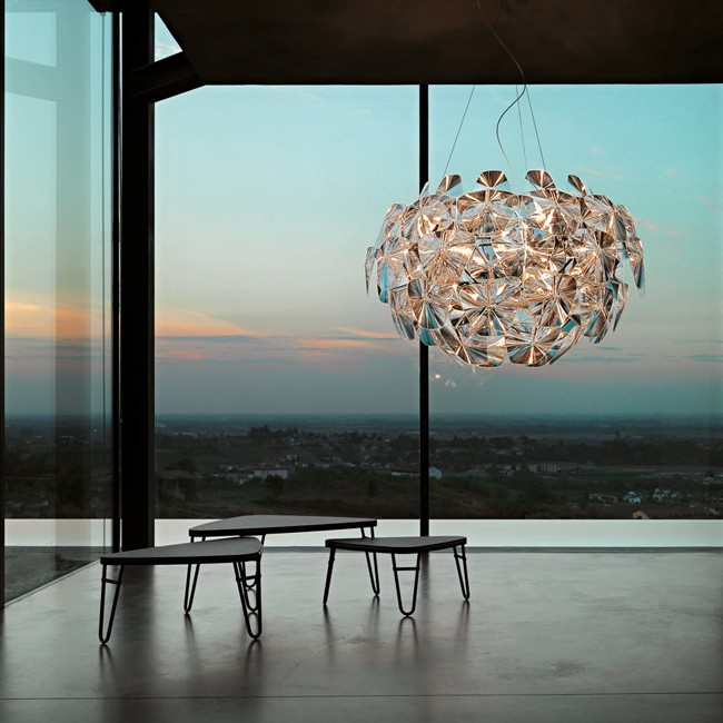 Luceplan hanglamp Hope D66/42 door Paolo Rizzatto
