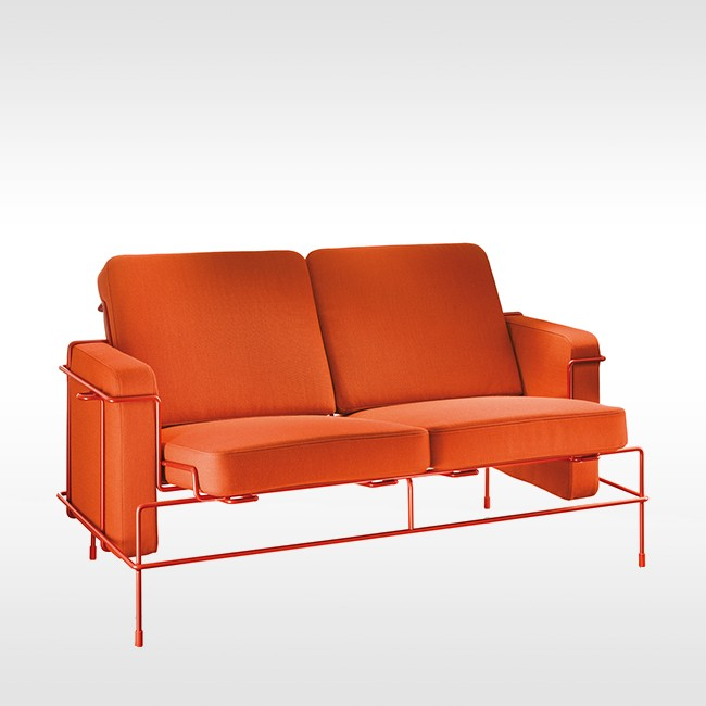 Magis bank Traffic Sofa SD2710 & SD2715 (stof) door Konstantin Grcic