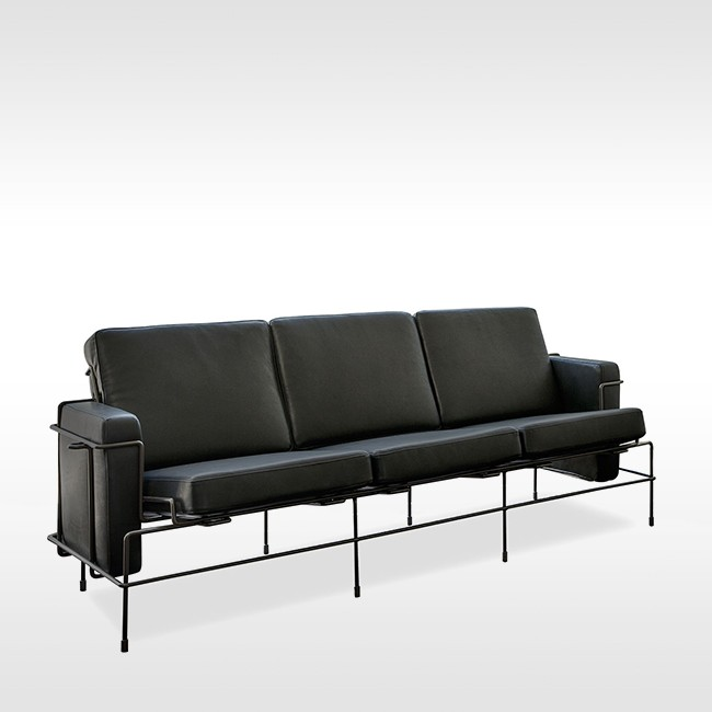 Magis bank Traffic Sofa SD2714B & SD2718B (leer) door Konstantin Grcic