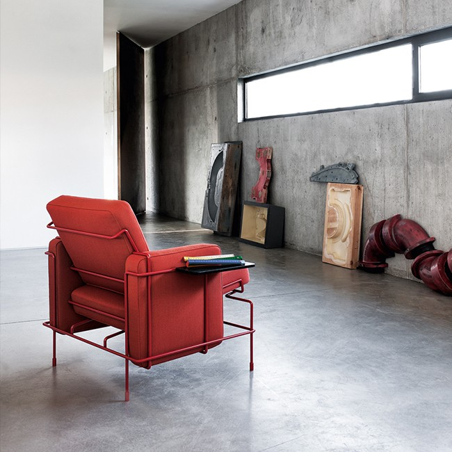 Magis loungestoel Traffic Armchair SD2700 (stof) door Konstantin Grcic