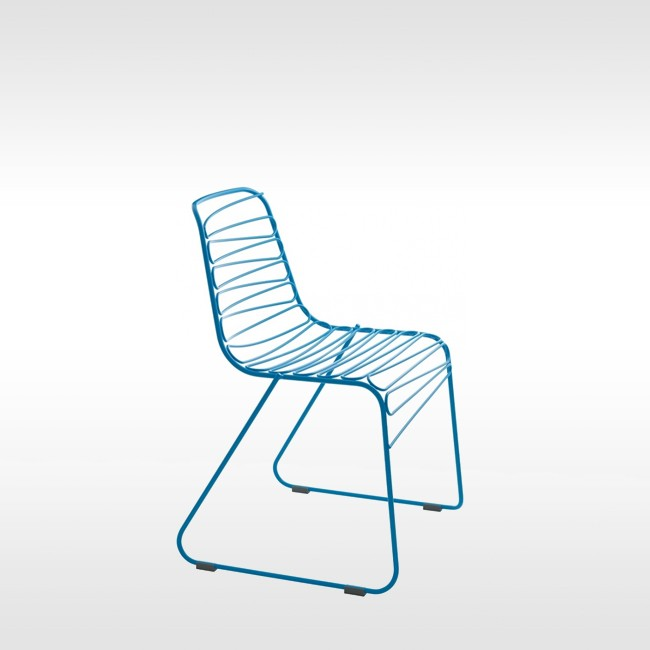 Magis stoel Flux Chair door Jerszy Seymour