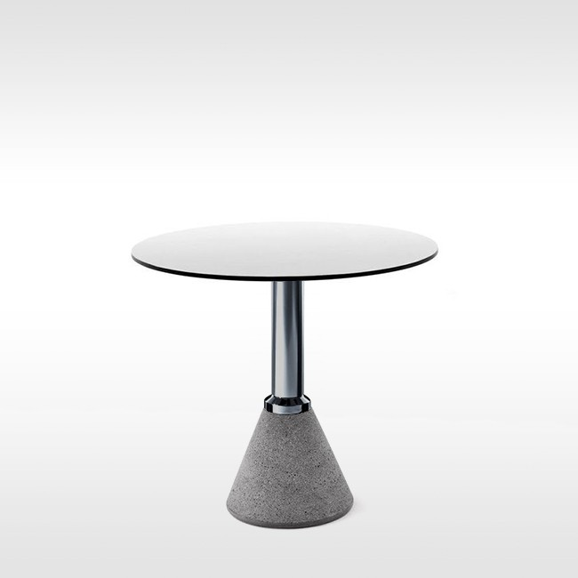 Magis tafel Table_One Bistrot rond door Konstantin Grcic