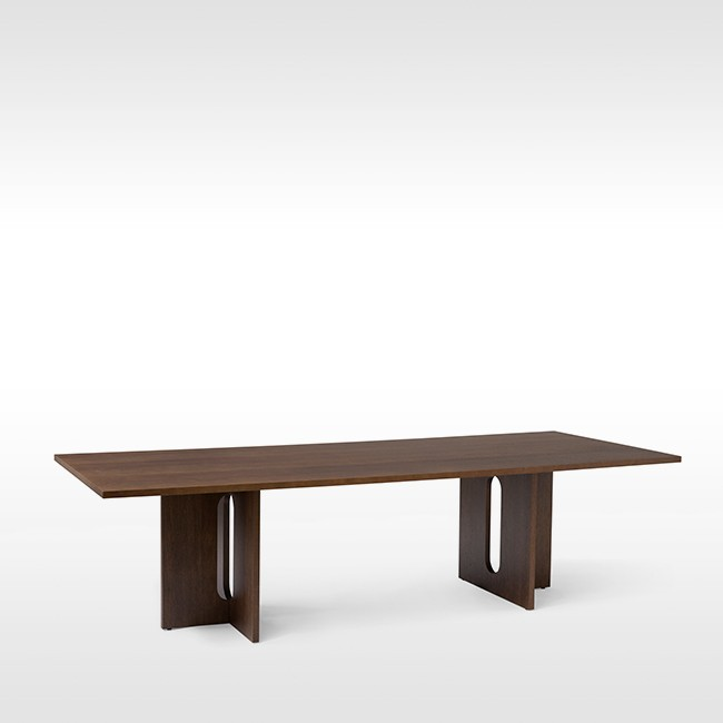 Menu tafel Androgyne Dining Table Rectangular 280 door Danielle Siggerud