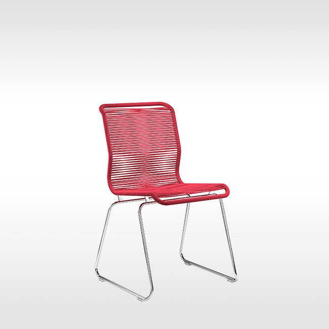 Montana stoel Panton One Chair RVS door Verner Panton