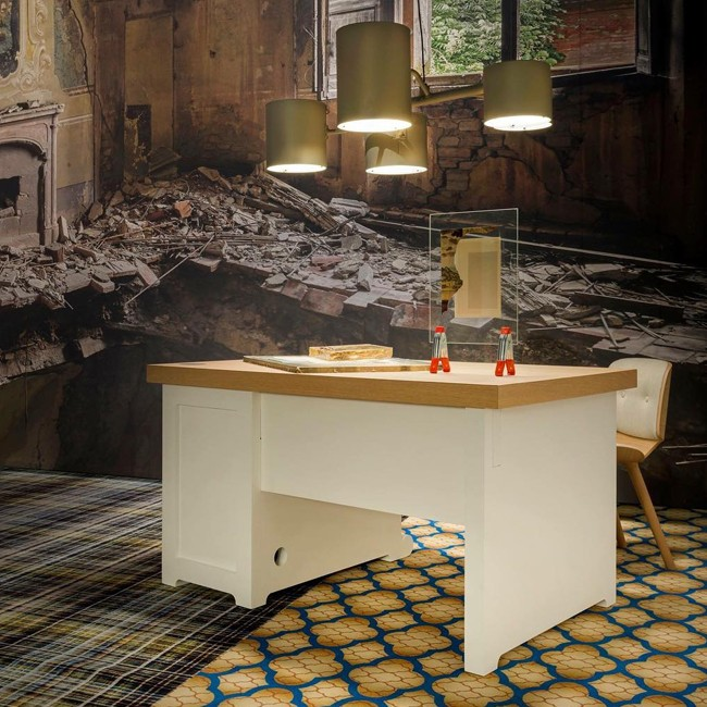 Moooi bureau Paper Desk 140 door Studio Job