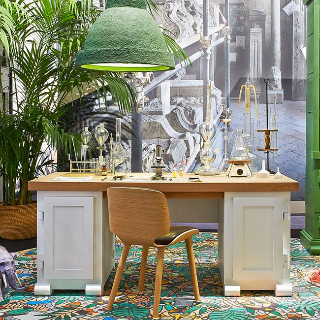 Moooi bureau Paper Desk 180 door Studio Job