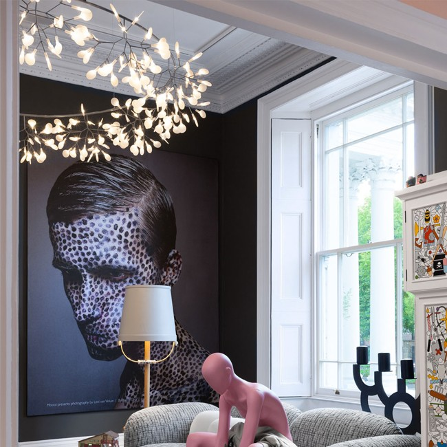 Moooi hanglamp Heracleum The Big O door Bertjan Pot