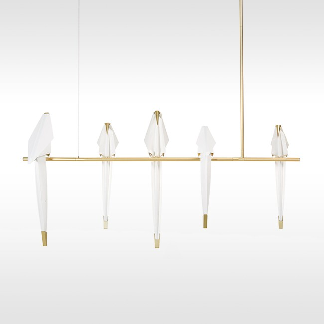 Moooi hanglamp Perch Light Branch door Umut Yamac