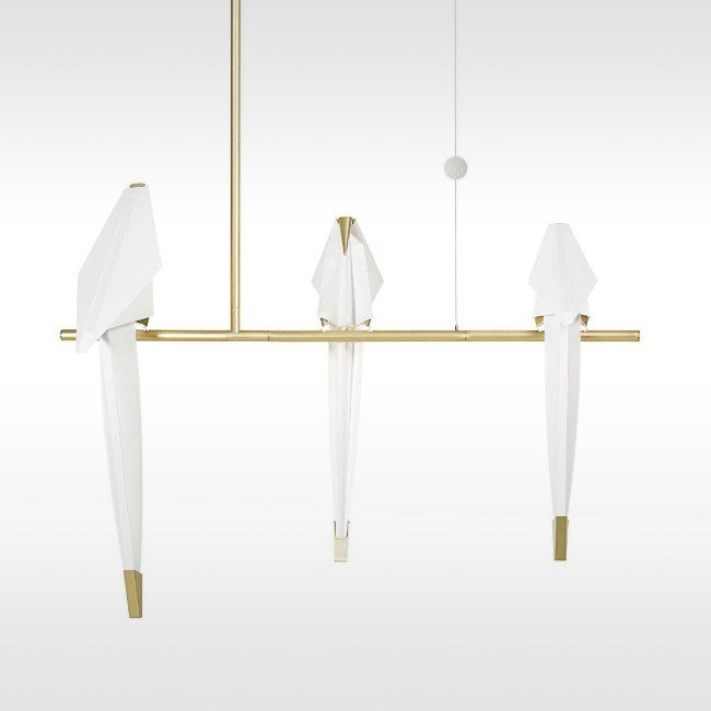 Moooi hanglamp Perch Light Branch Small door Umut Yamac