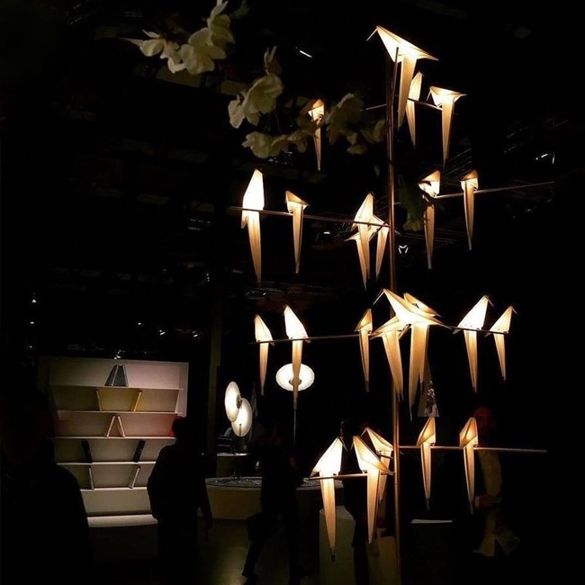 Moooi hanglamp Perch Light Tree door Umut Yamac