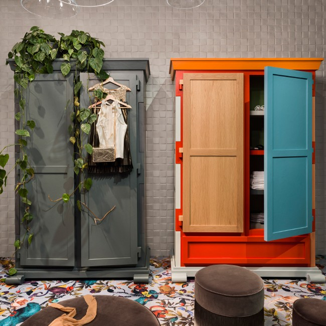 Moooi kast Paper Cupboard Patchwork door Studio Job
