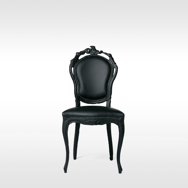Moooi stoel Smoke Dining Chair door Maarten Baas