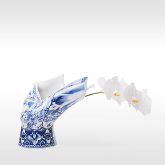 Moooi vaas Blow Away Vase door Front